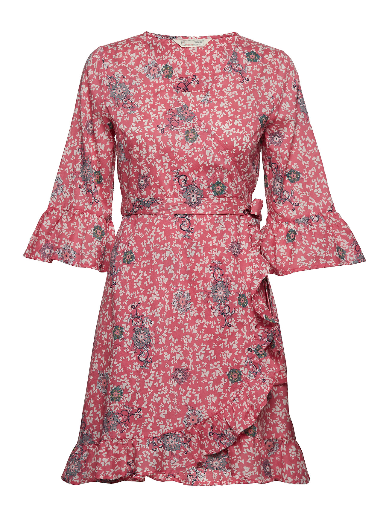 ODD MOLLY lush shake wrap dress