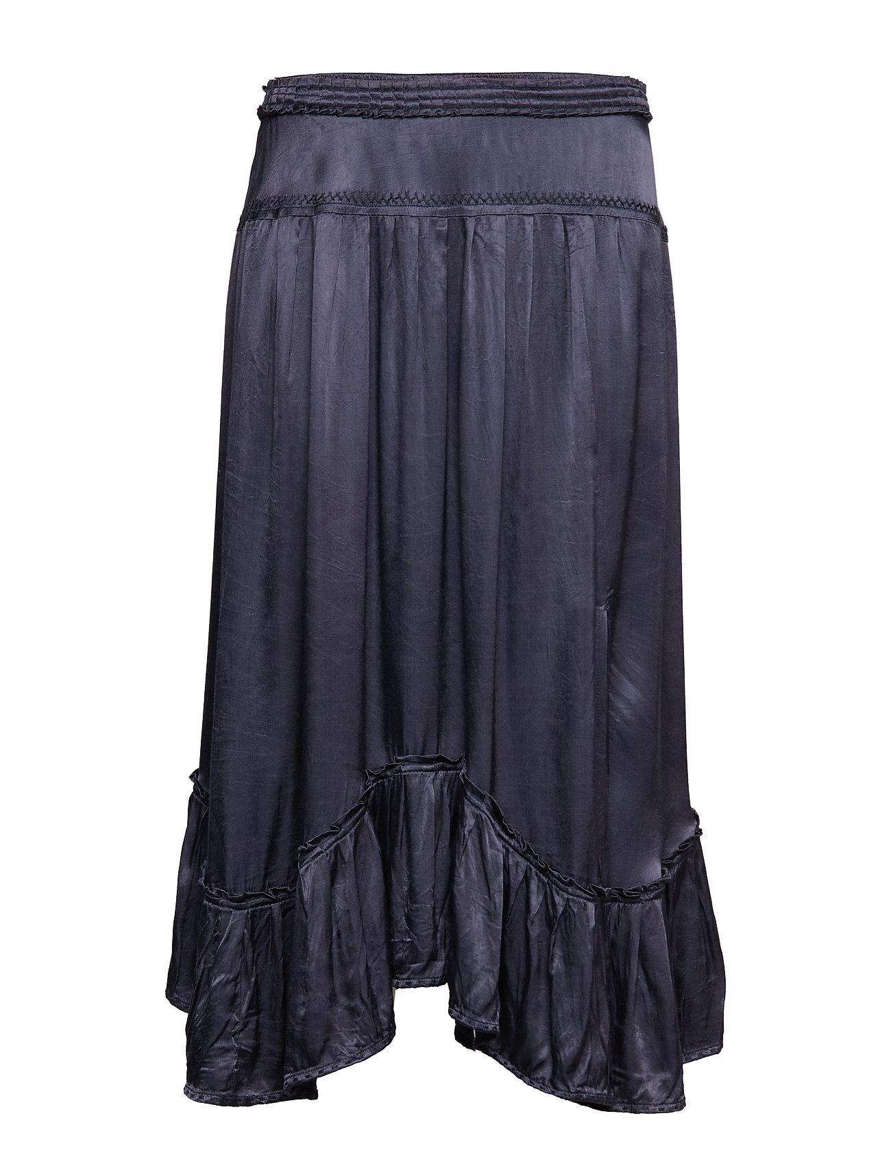 ODD MOLLY swing loose skirt - FRENCH NAVY