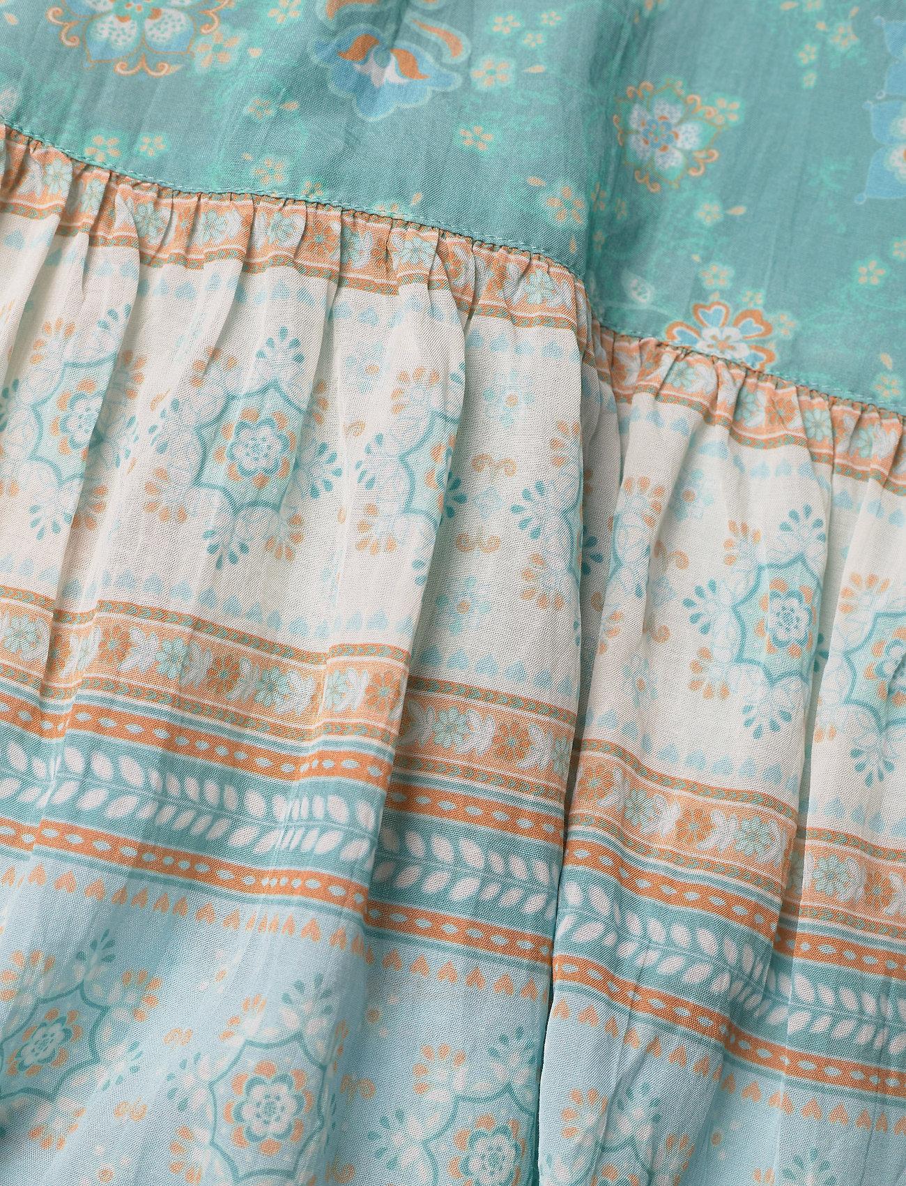 ODD MOLLY Bohemic Dress - Sukienki MOROCCAN TURQUOISE - Kobiety Odzież.