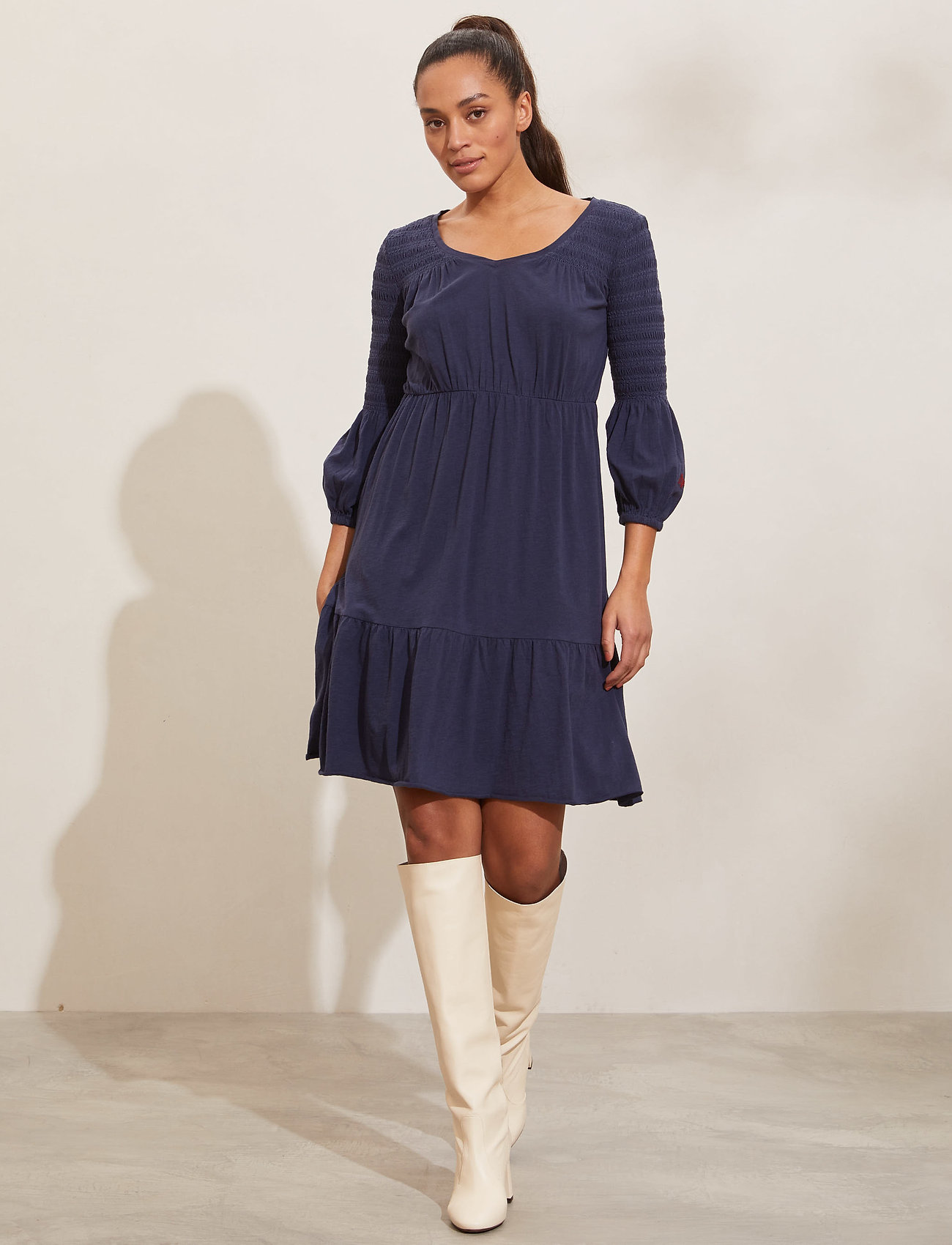ODD MOLLY - Gloria Dress - hverdagskjoler - dark blue - 0