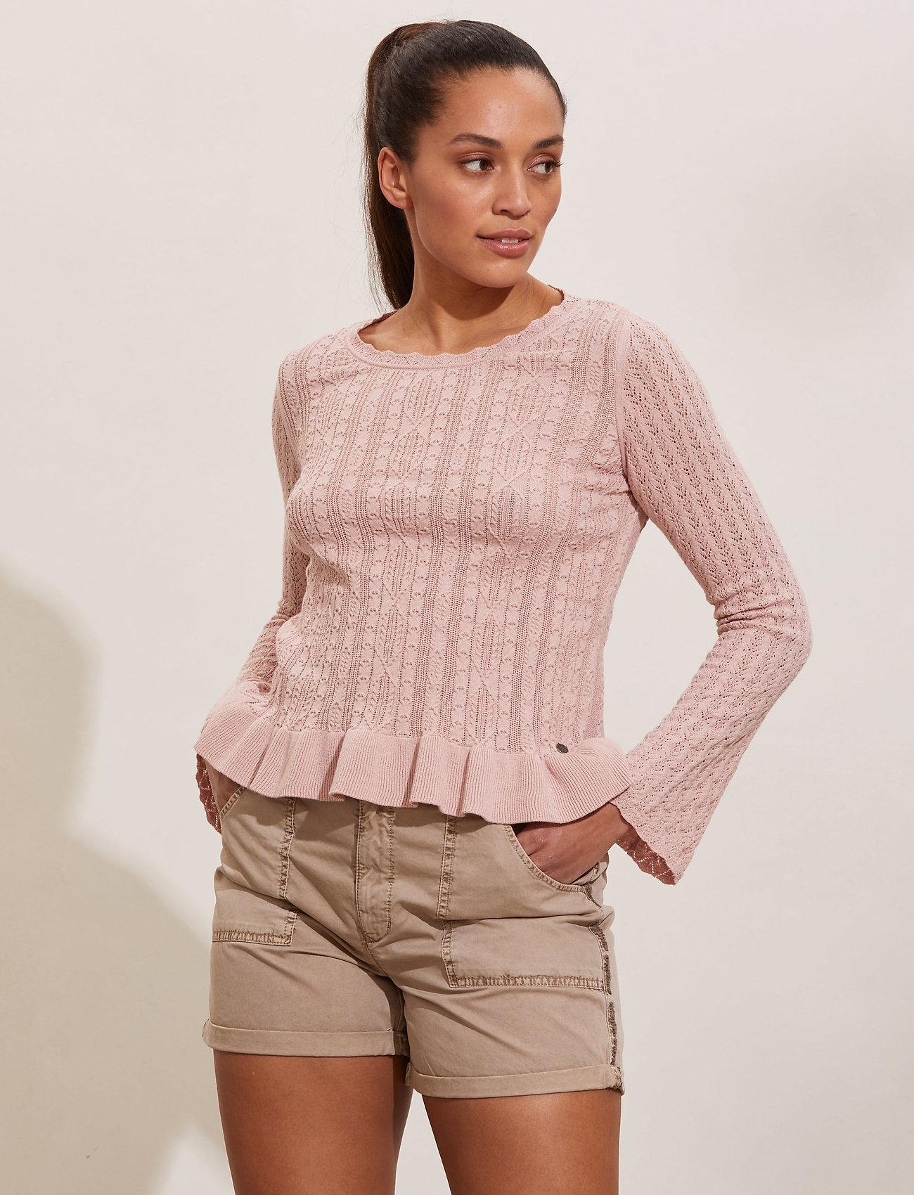 ODD MOLLY - Laura Sweater - sweaters - dark shell - 0