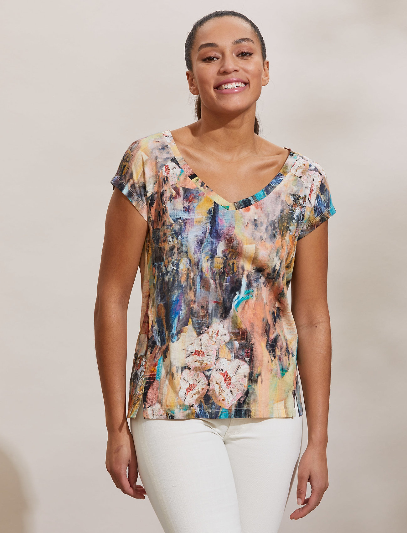 ODD MOLLY - Sierra Top - t-shirts - multi - 0