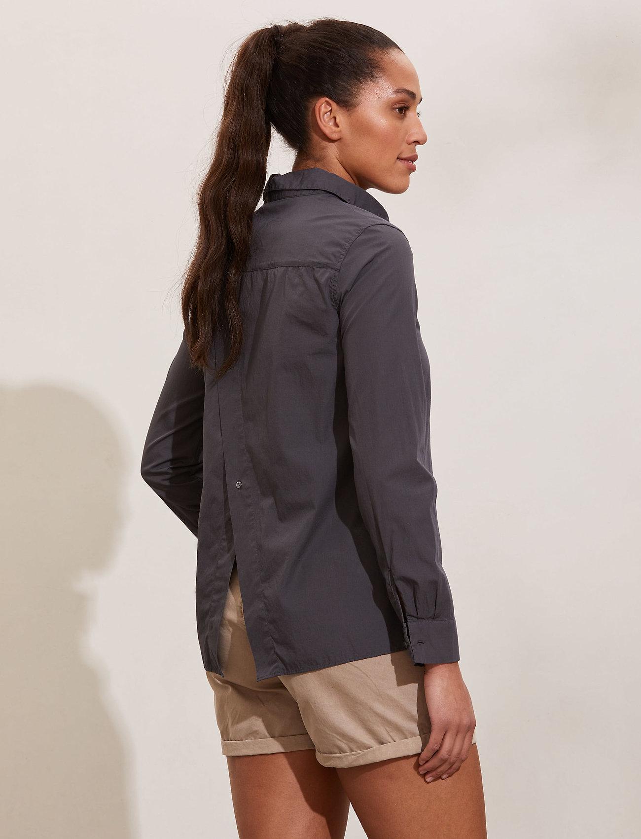 ODD MOLLY - Willow Shirt - long-sleeved shirts - asphalt - 3