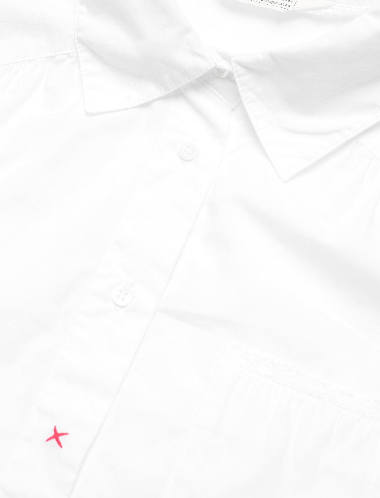 ODD MOLLY - Willow Shirt - langærmede skjorter - bright white - 4