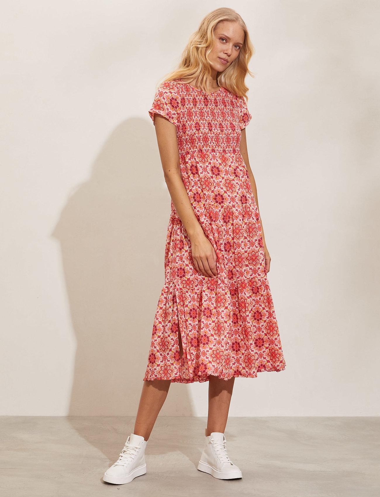 ODD MOLLY - Myrtle Dress - sommerkjoler - pink fudge - 0