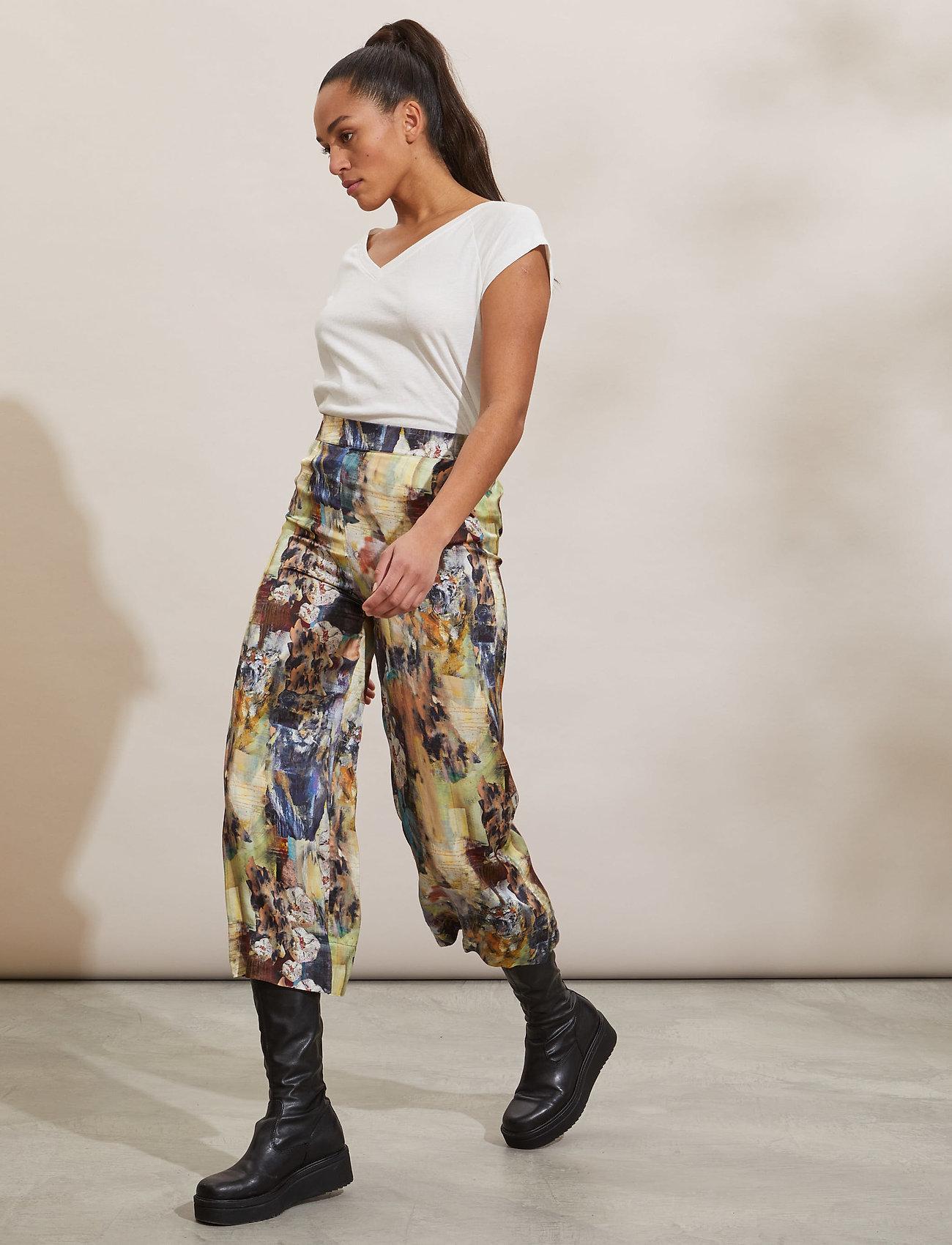 ODD MOLLY - Gaia Pants - bukser med brede ben - multi - 0