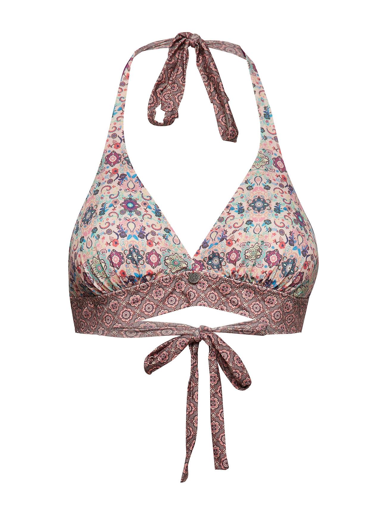 Bikini Molly Halterneck Blossom Toporchid PinkOdd RjLA435q