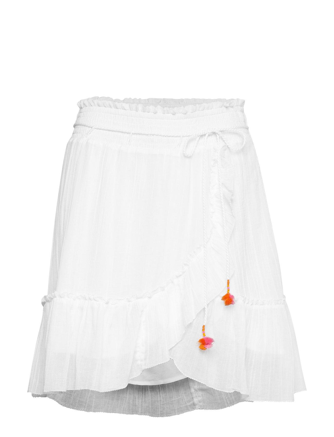 ODD MOLLY superflow skirt - BRIGHT WHITE