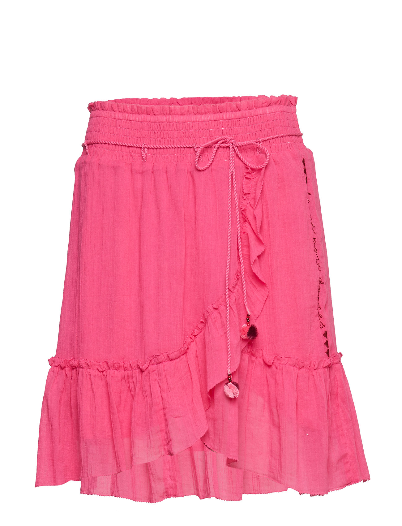 ODD MOLLY superflow skirt - HOT PINK