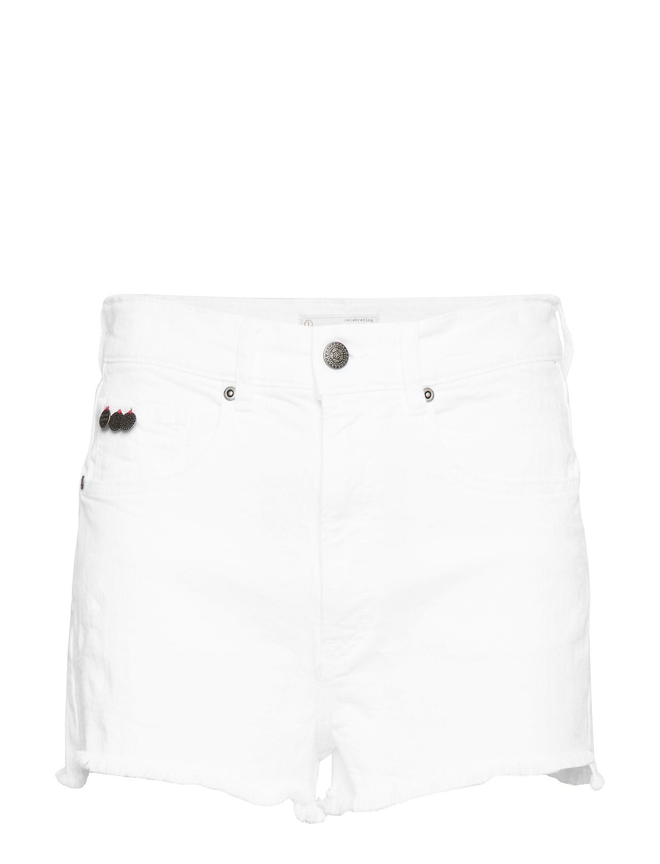 ODD MOLLY cabana shorts - BRIGHT WHITE