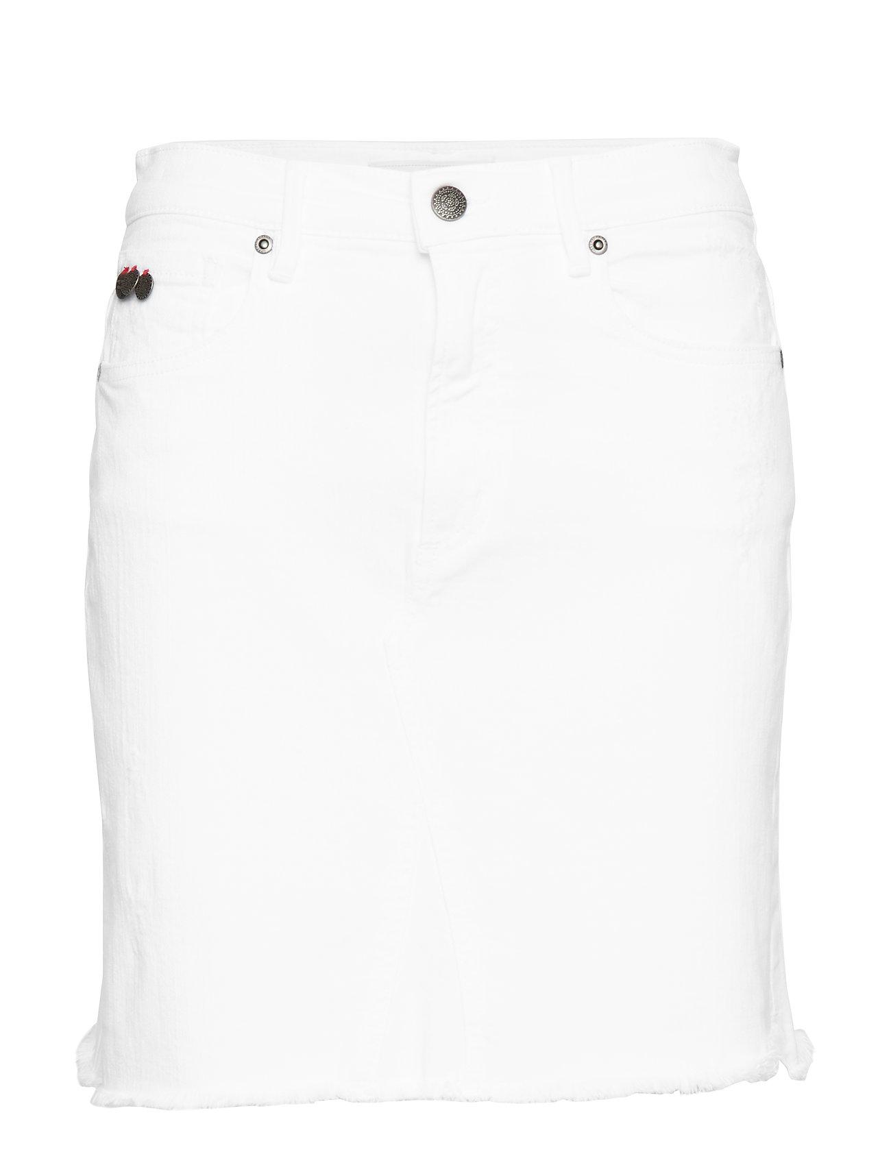 ODD MOLLY cabana skirt - BRIGHT WHITE