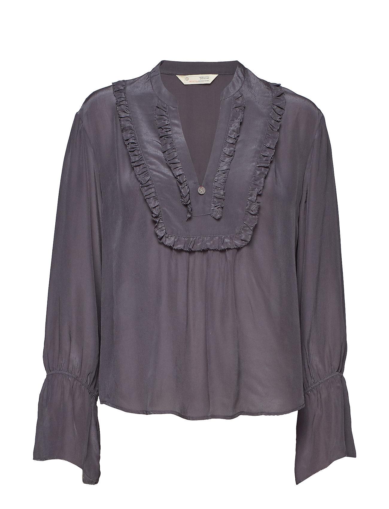 ODD MOLLY i-escape blouse - ASPHALT