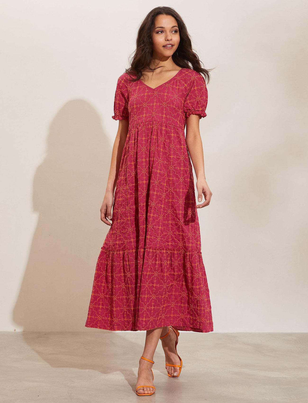 ODD MOLLY - Latrice Dress - sommerkjoler - bright fuschia - 0