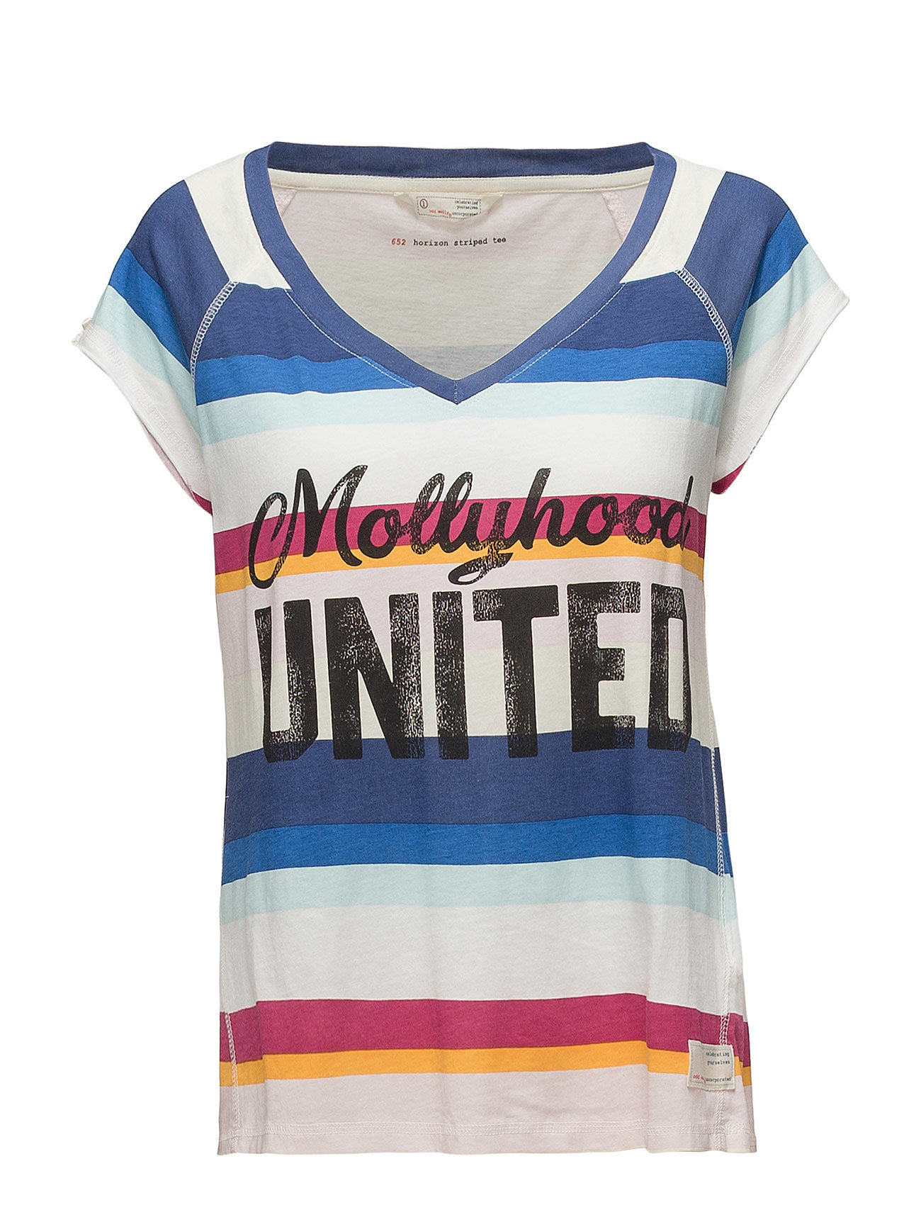 ODD MOLLY horizon striped tee Ögrönlar