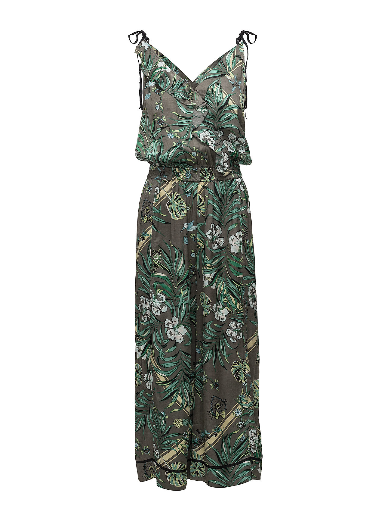 ODD MOLLY passionista jumpsuit - MISTY GREEN