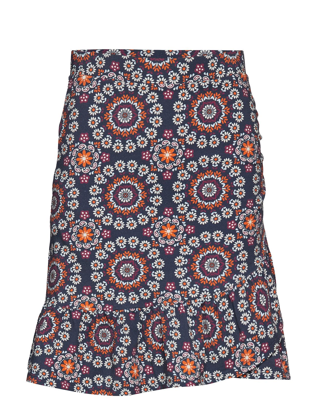 ODD MOLLY women empire skirt - DARK BLUE