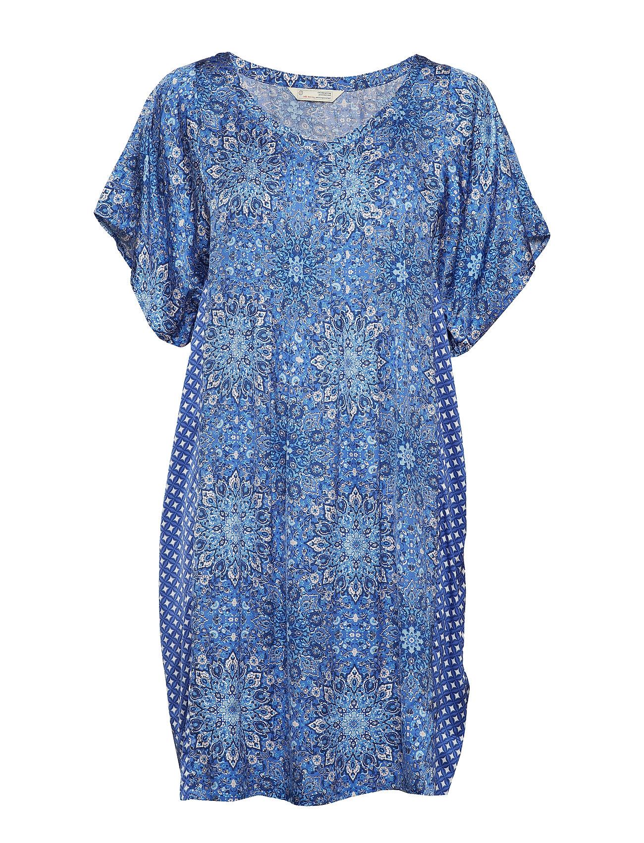 ODD MOLLY empowher dress - SEA BLUE