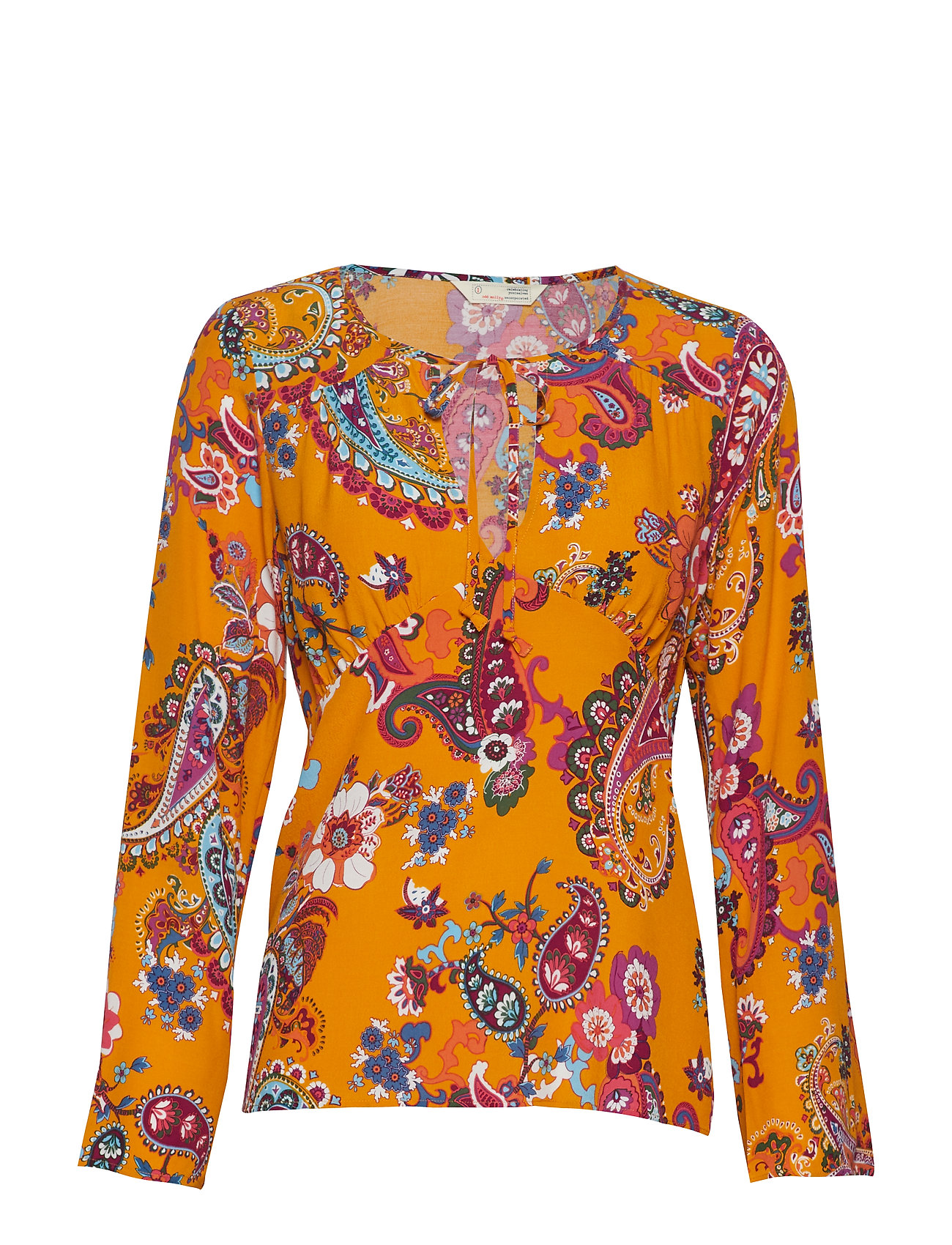 ODD MOLLY knock-off blouse - GOLDEN HONEY