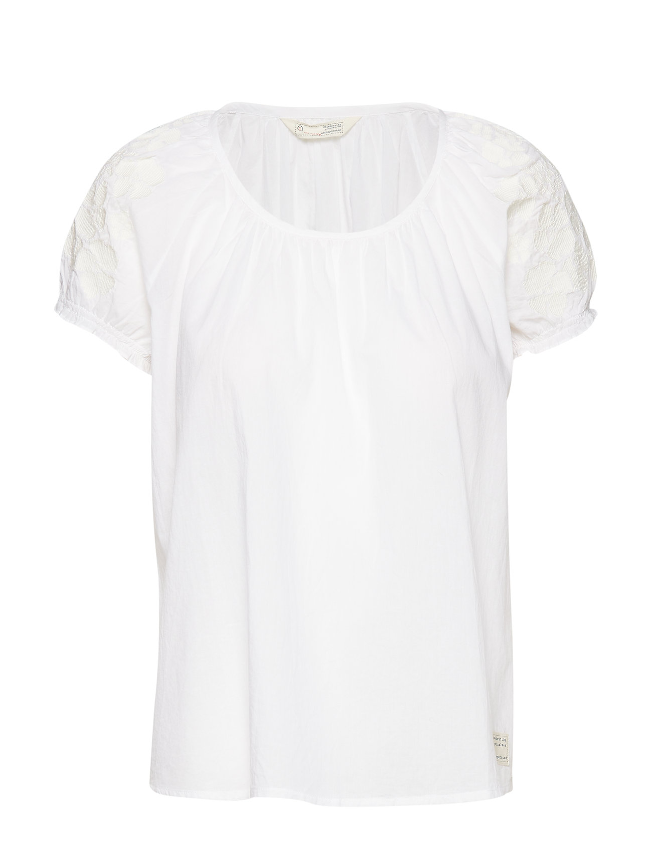 ODD MOLLY wooo-hooo blouse - BRIGHT WHITE