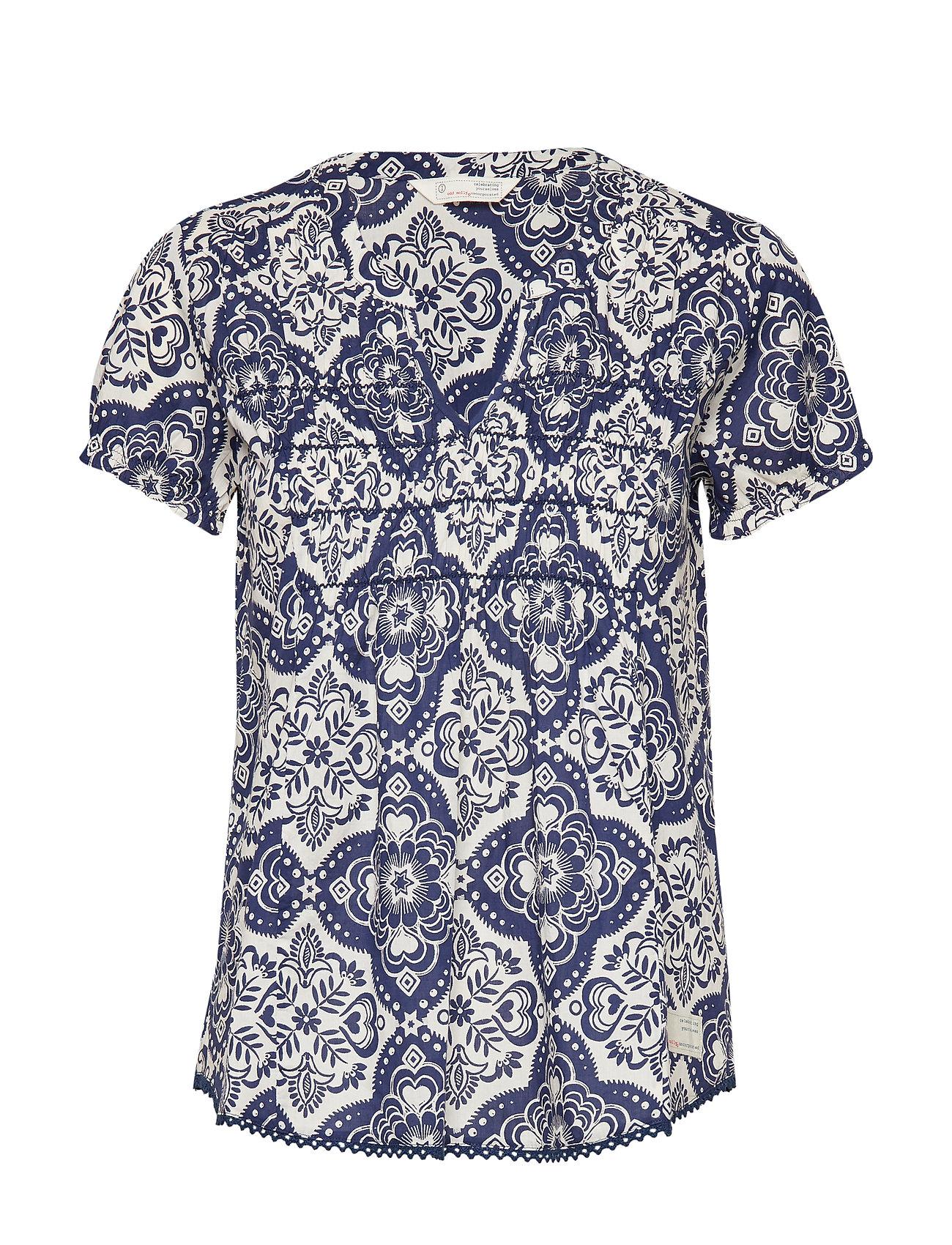 ODD MOLLY no limit blouse - NIGHTFALL BLUE
