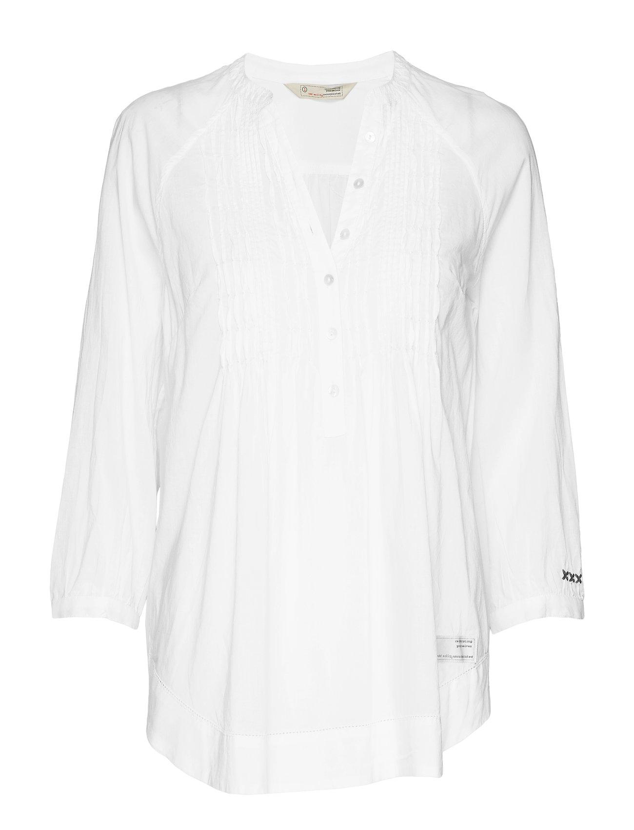 ODD MOLLY embrace me blouse - BRIGHT WHITE