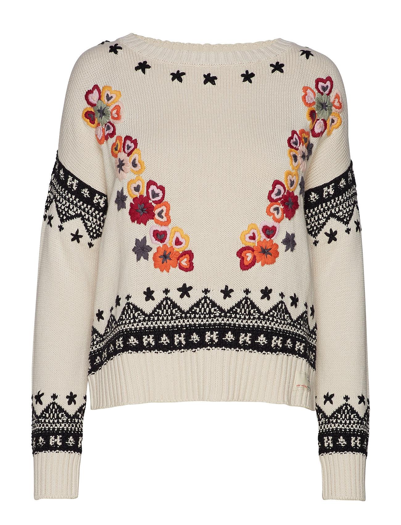 ODD MOLLY my dear sweater - CHALK