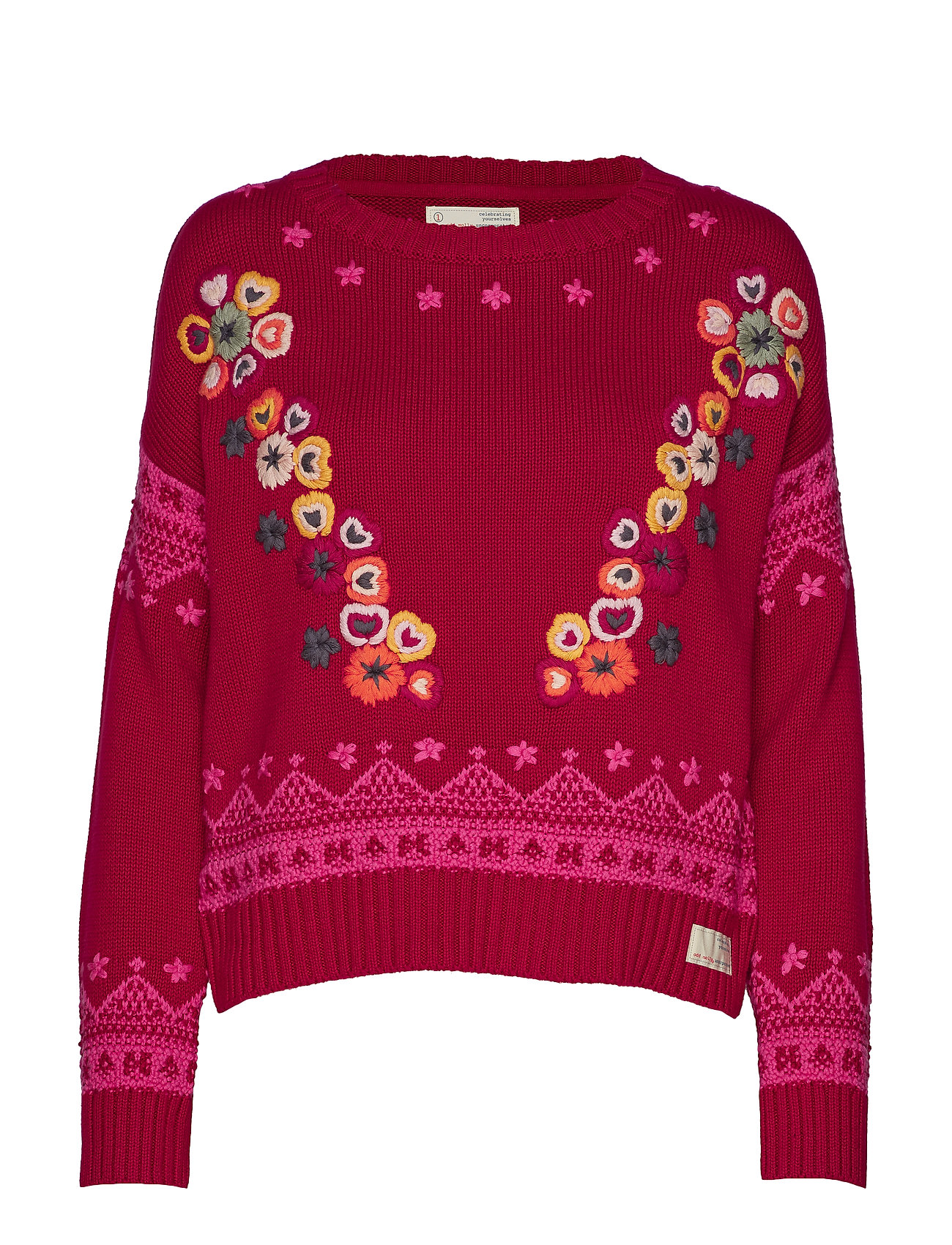 ODD MOLLY my dear sweater - GARNET RED