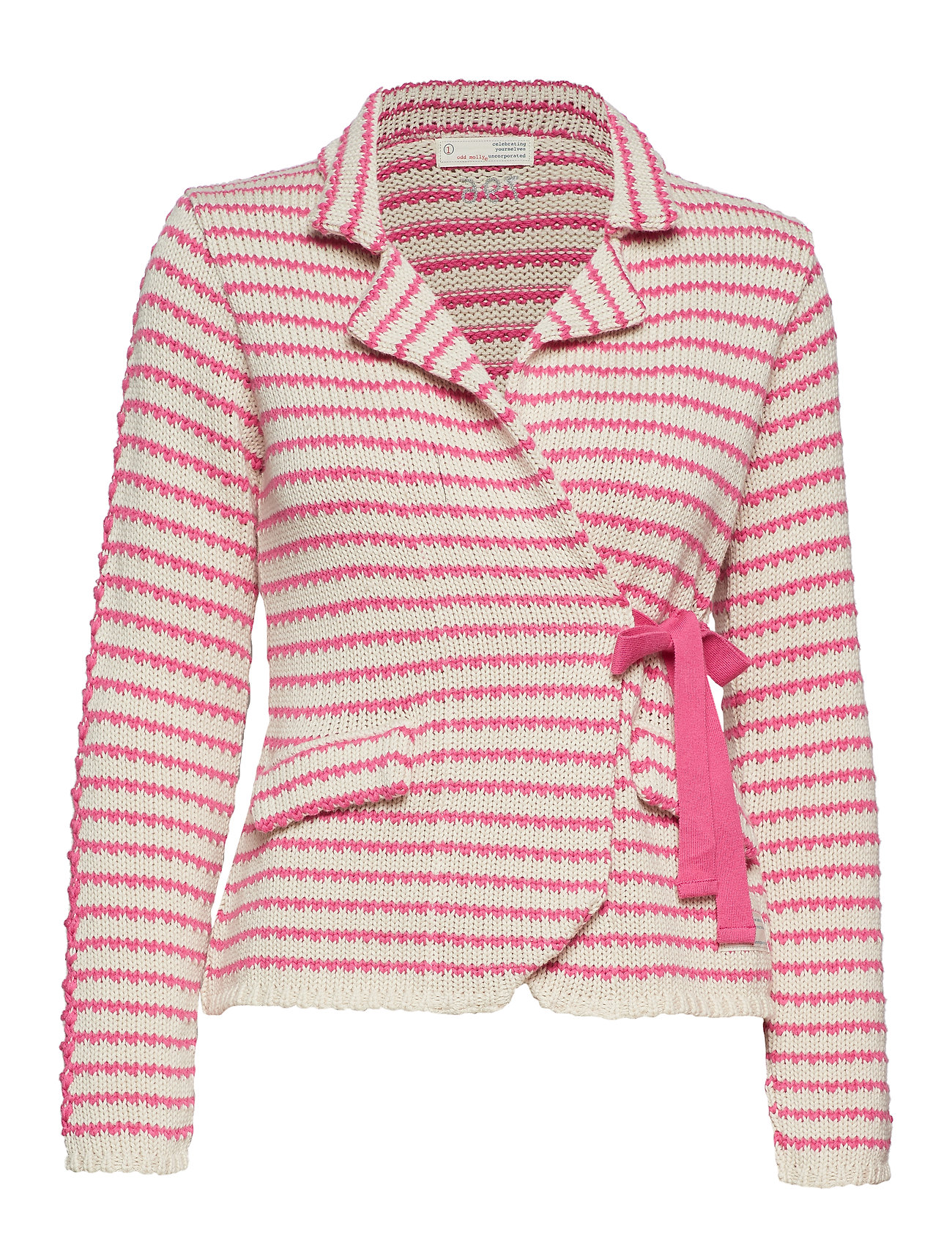 ODD MOLLY the knit jacket - SUGAR PINK