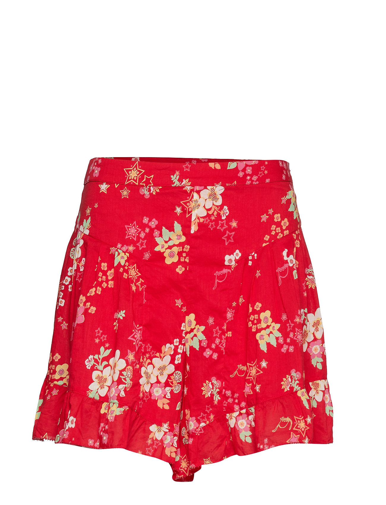 ODD MOLLY marvelously free shorts - RED TULIP