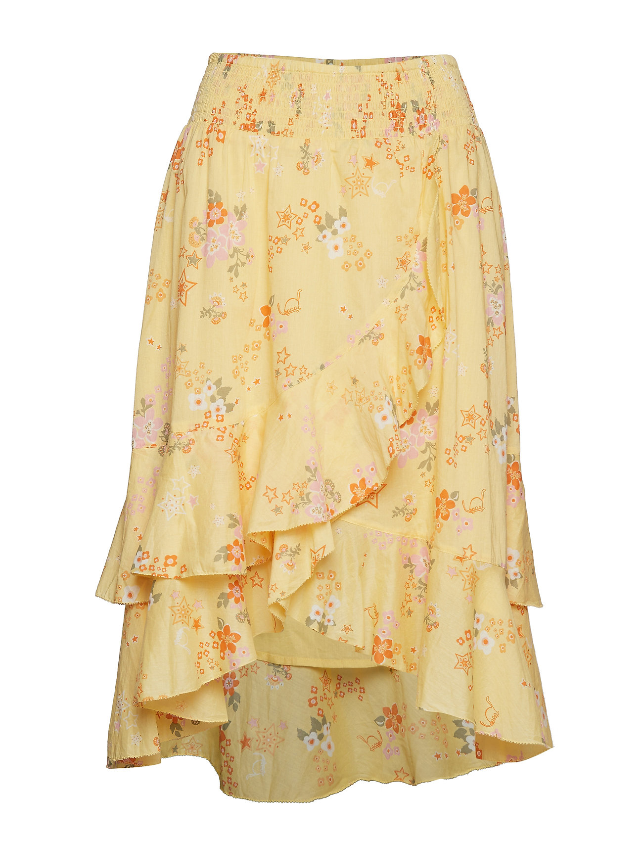 ODD MOLLY marvelously free skirt - VINTAGE YELLOW