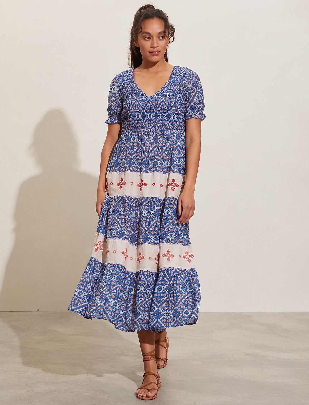 ODD MOLLY - Jovena Dress - sommerkjoler - summer blue - 0