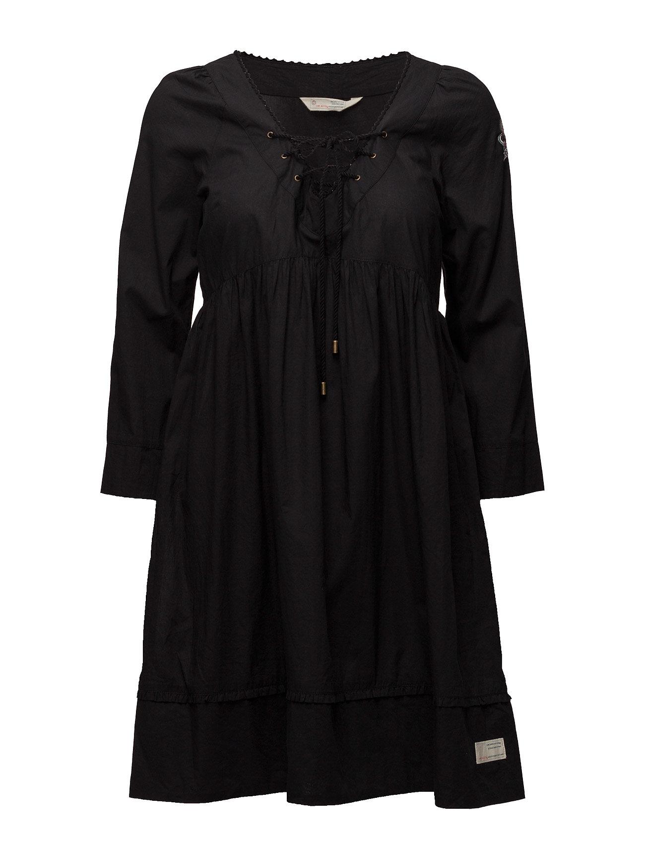 odd molly medley dress almost black g nstig schnell einkaufen. Black Bedroom Furniture Sets. Home Design Ideas