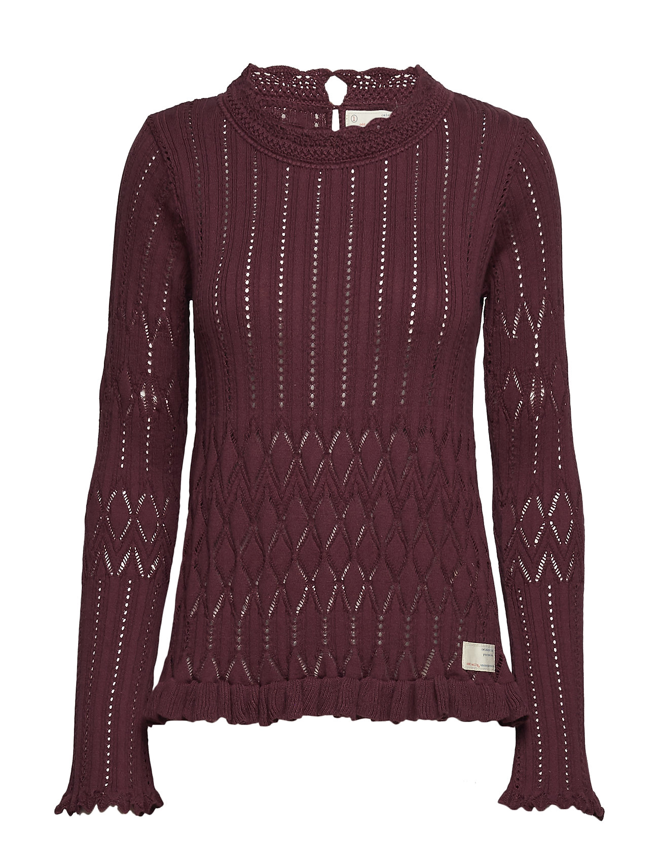 a1c9bfb0b Pretty On The Loose Sweater (Burgundy) (86.19 €) - ODD MOLLY ...