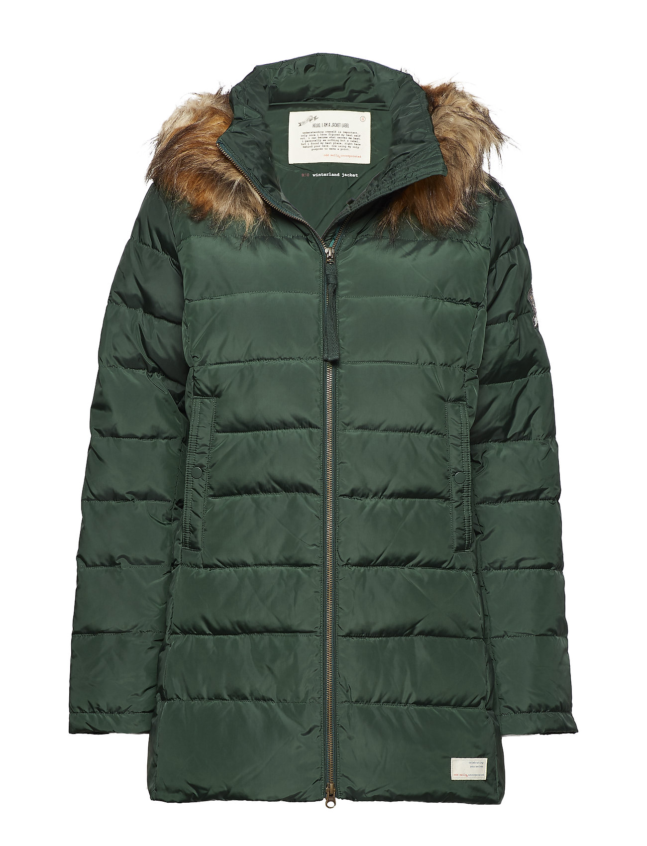 ODD MOLLY winterland jacket - EMERALD GREEN