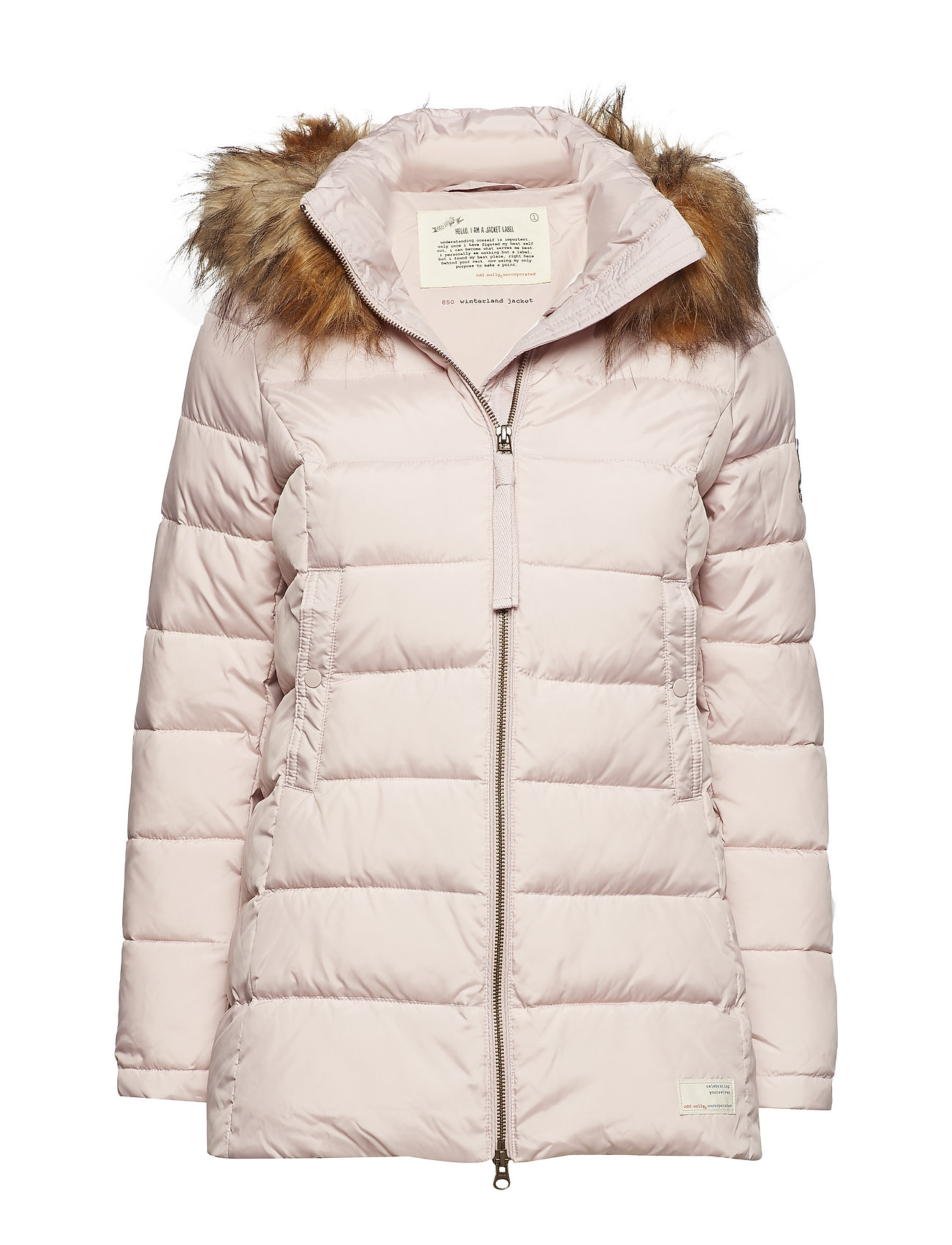 ODD MOLLY winterland jacket - PINK EARTH