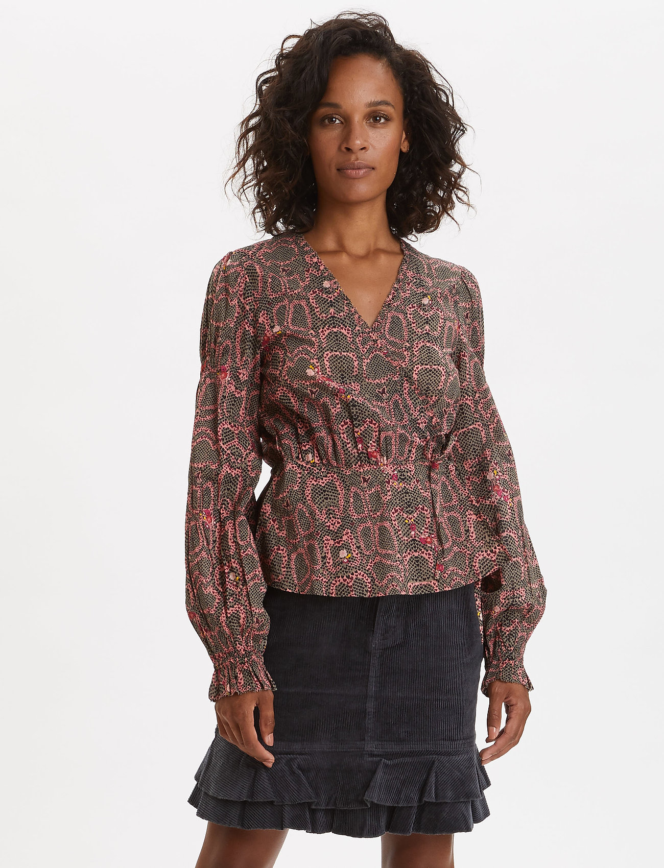 ODD MOLLY - For The Love Of Lust Blouse - blouses à manches longues - almost black - 0