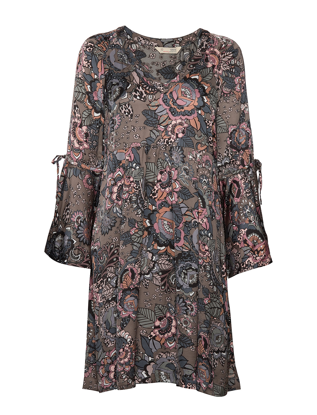 ODD MOLLY Extravaganca Tunic - WALNUT BROWN