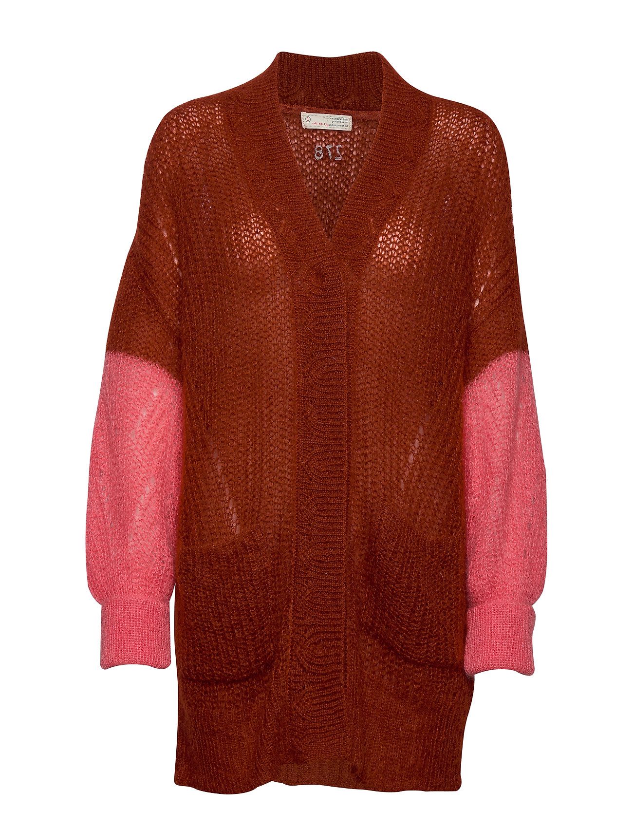 ODD MOLLY Savage Cardigan - RUSSET BROWN
