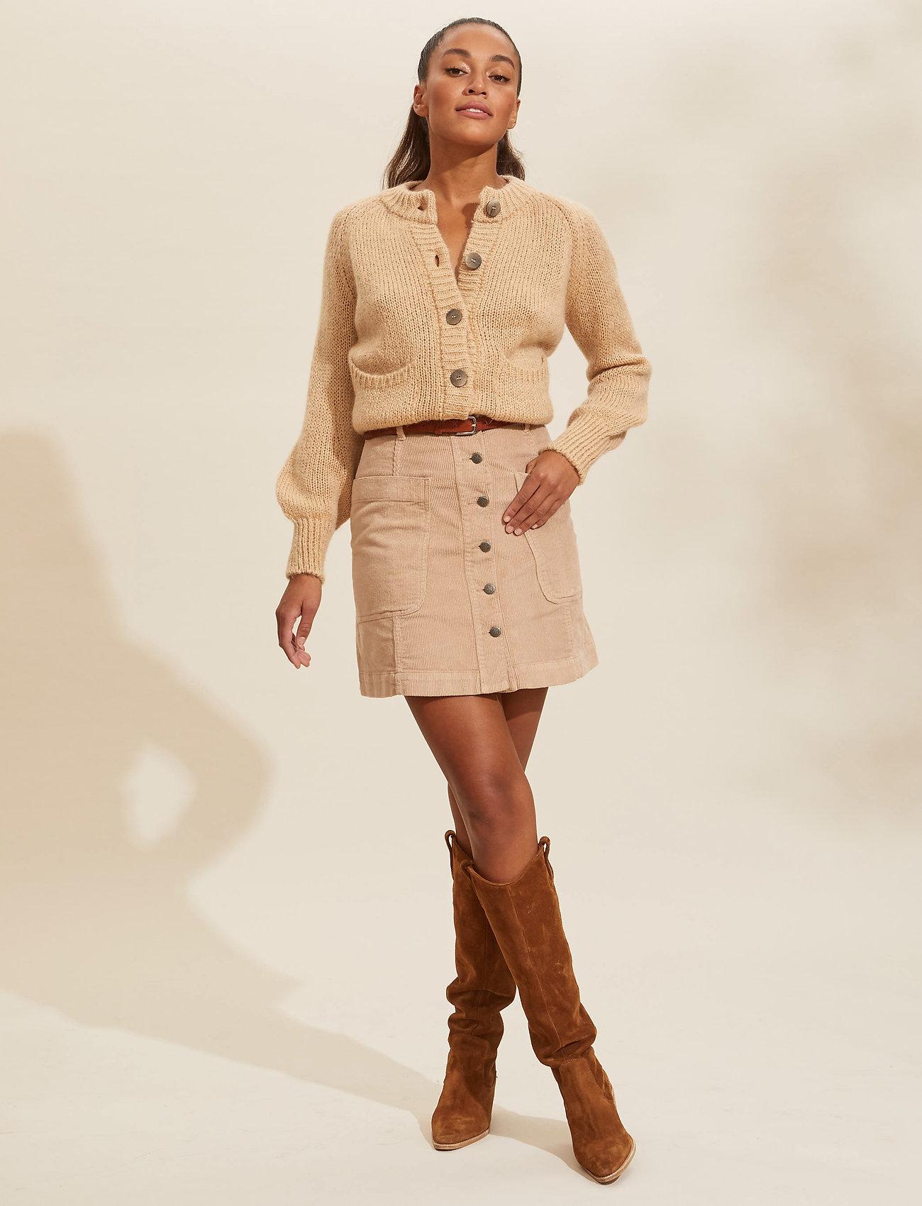 ODD MOLLY - Maya Skirt - korte nederdele - soft taupe - 0