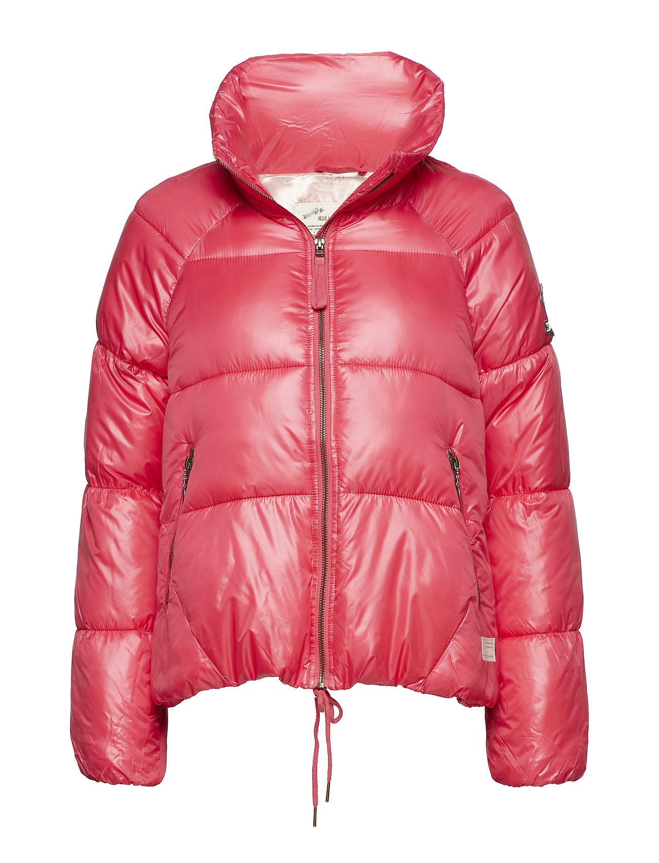 ODD MOLLY embrace jacket - POWER PINK