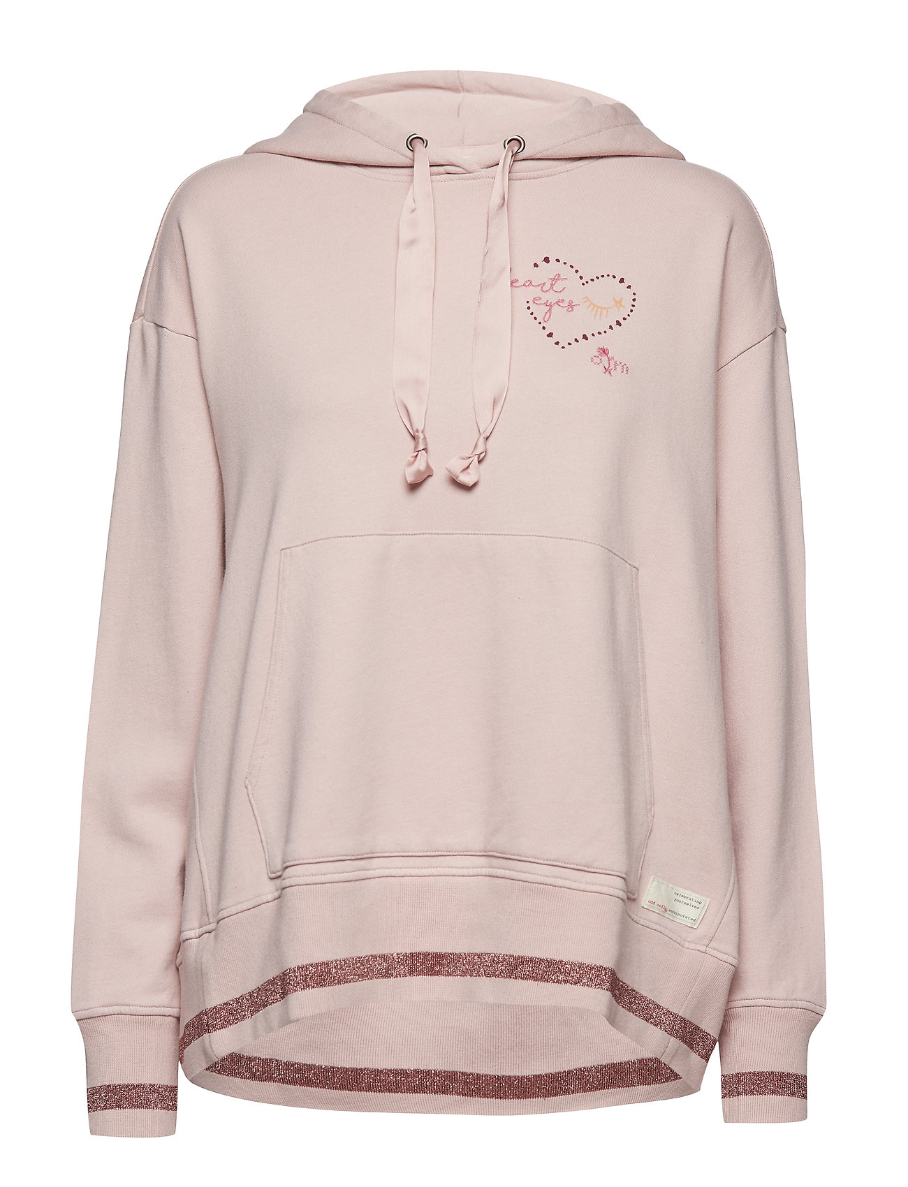 ODD MOLLY dream squad hoodie - SHEER PINK