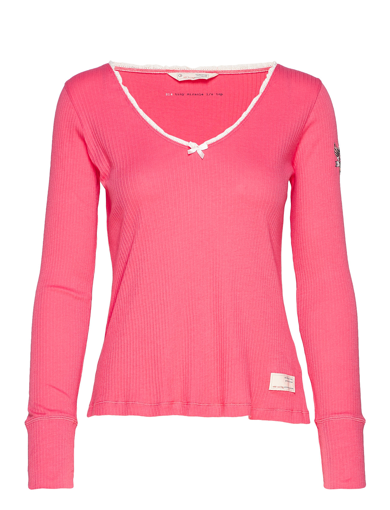 ODD MOLLY Tiny Miracle L/S Top - SPARKLING PINK