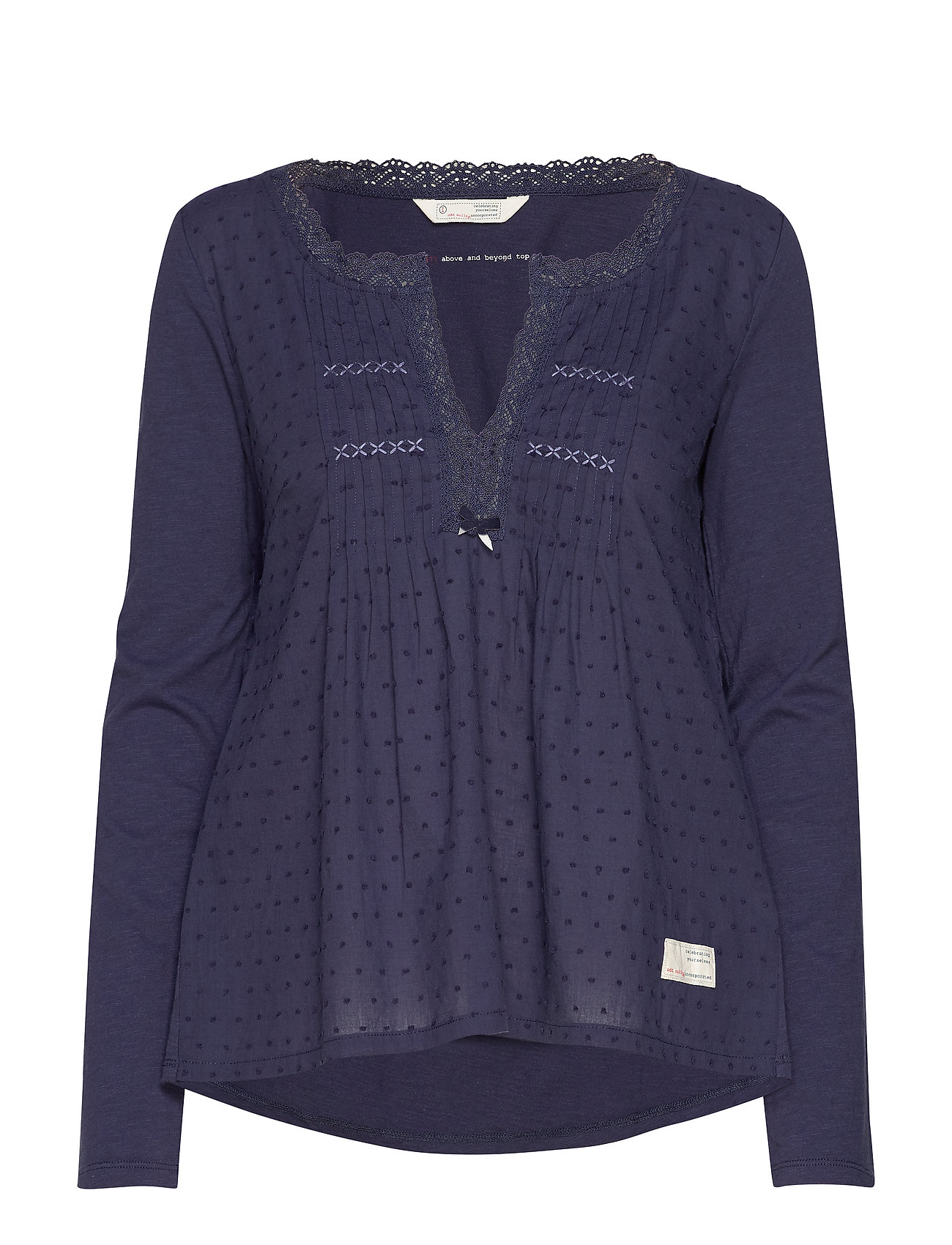 ODD MOLLY Above And Beyond Top - DARK BLUE