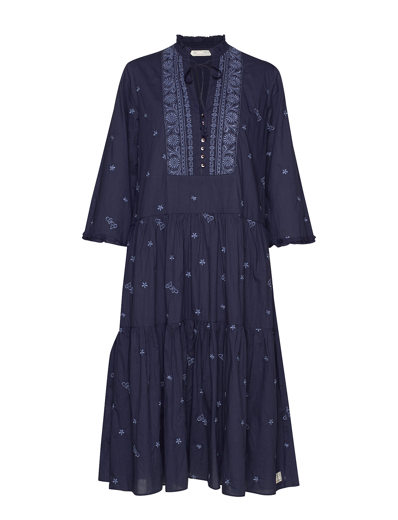 ODD MOLLY Dance More Dances Dress - DARK BLUE