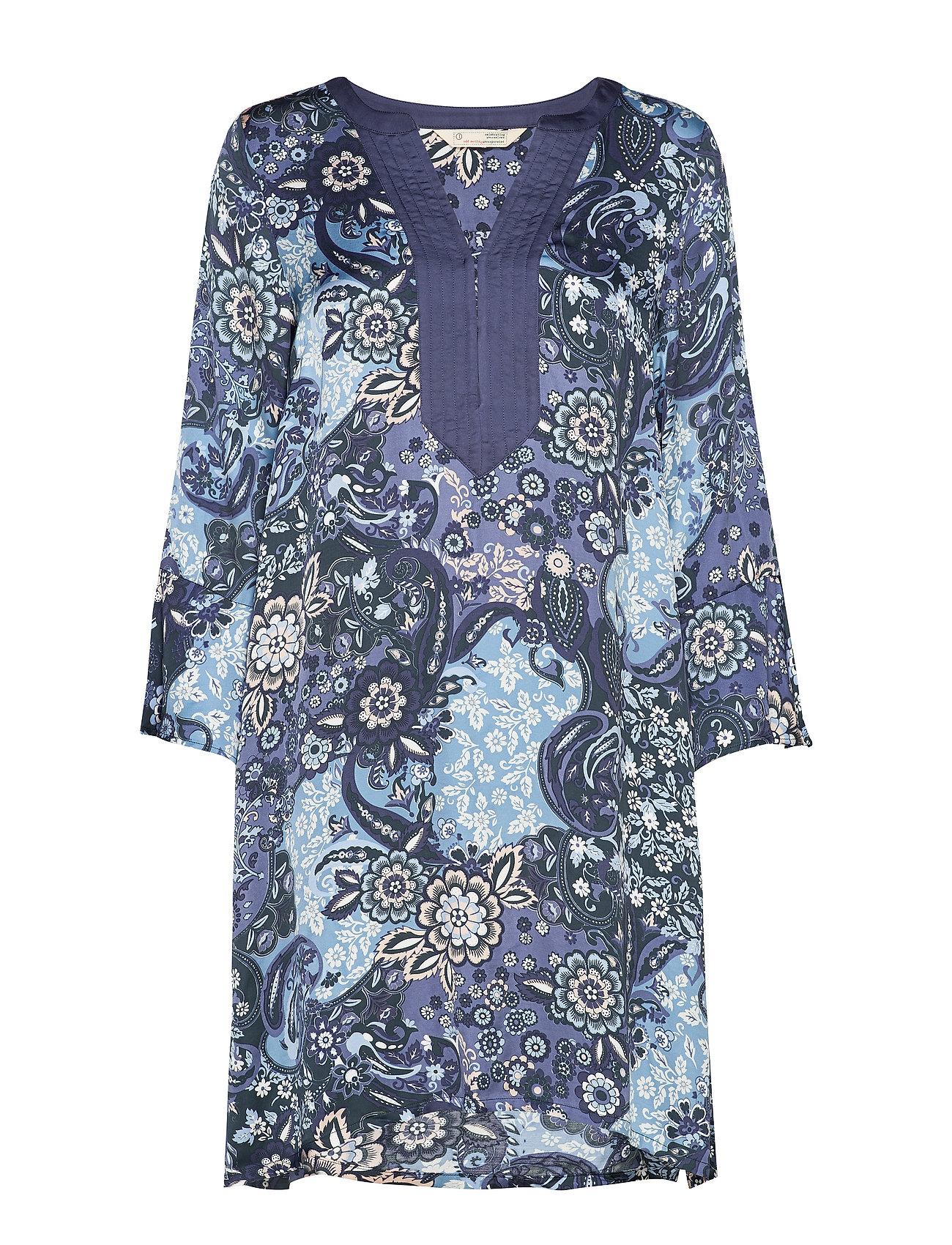 ODD MOLLY Belladonna Short Dress - DARK BLUE