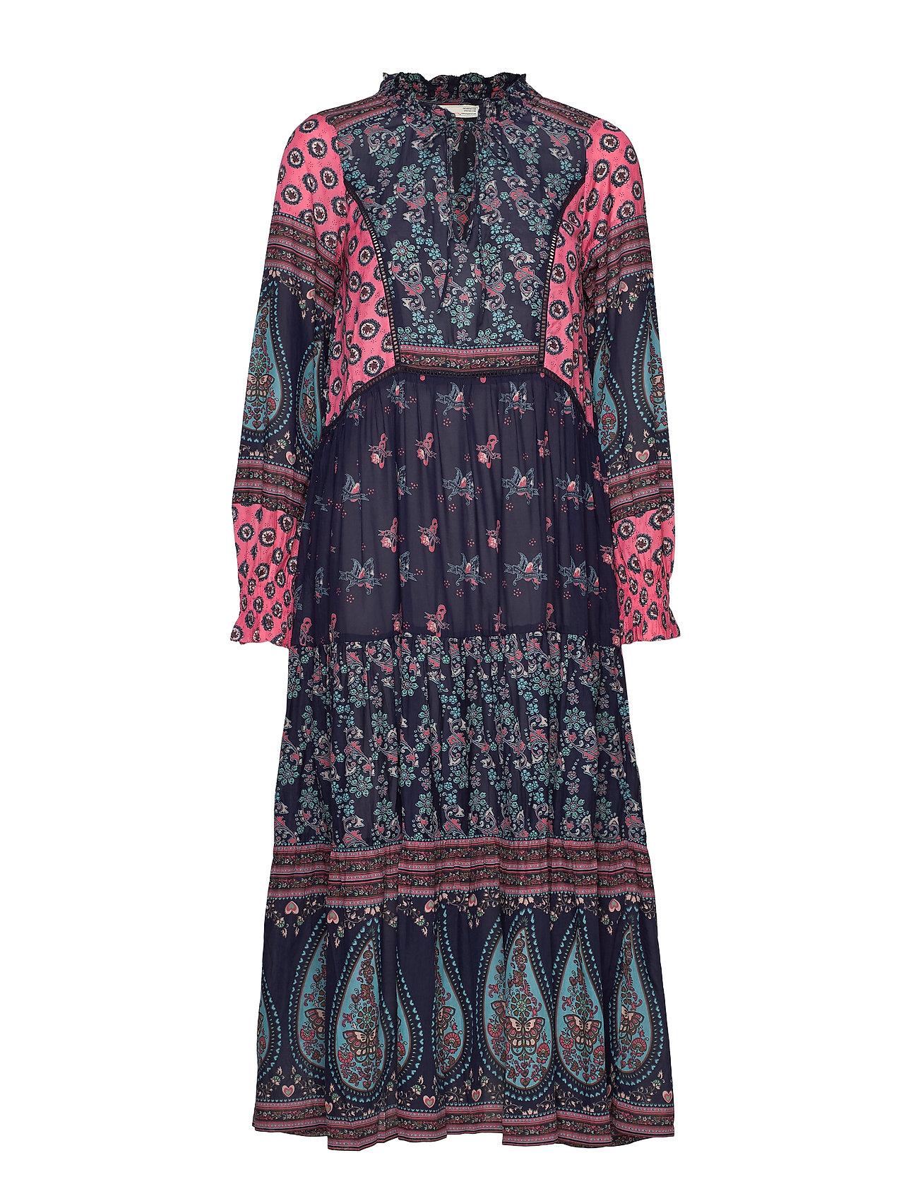 ODD MOLLY La Vie Boheme Dress - DARK BLUE