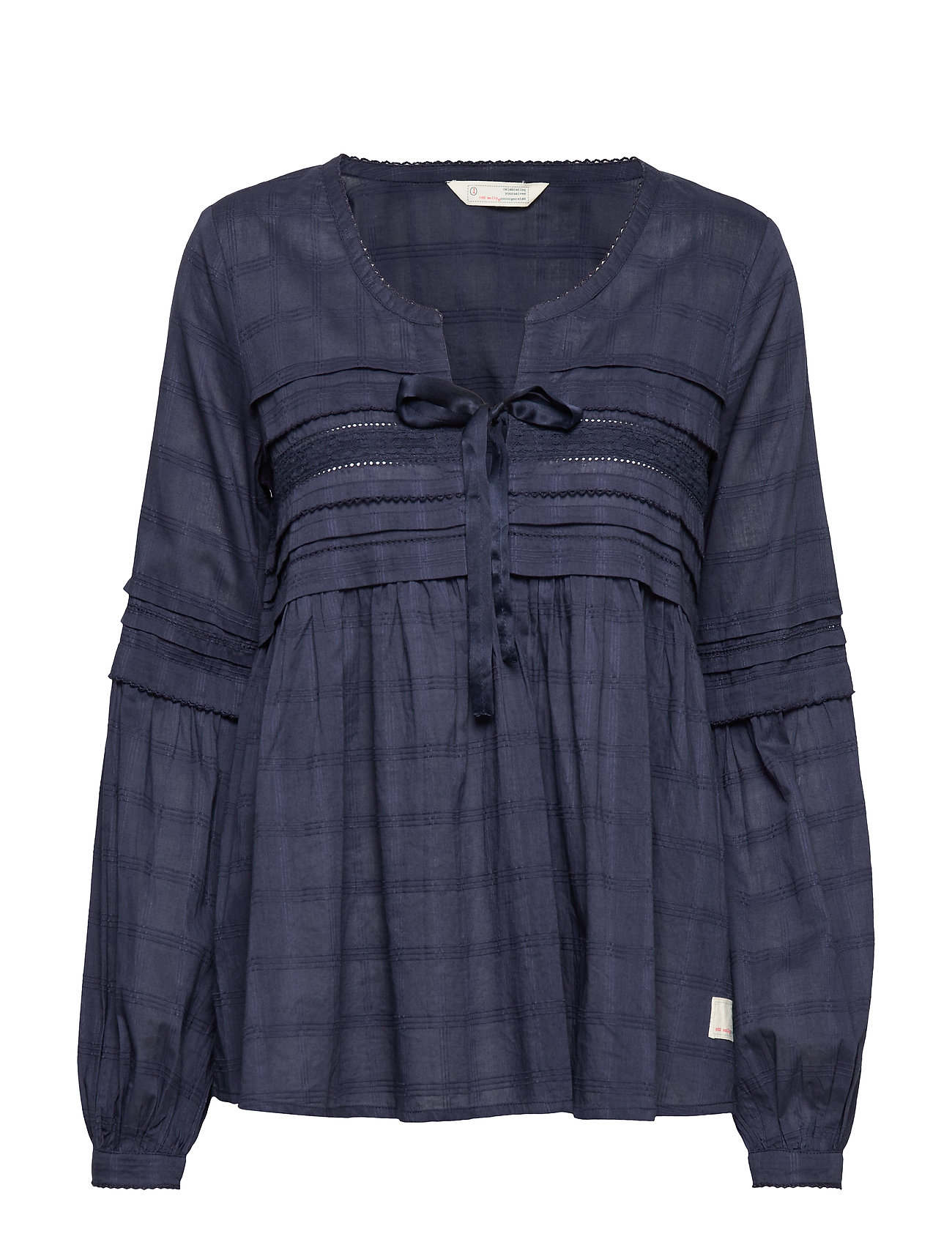ODD MOLLY Ready To Go Blouse - DARK BLUE