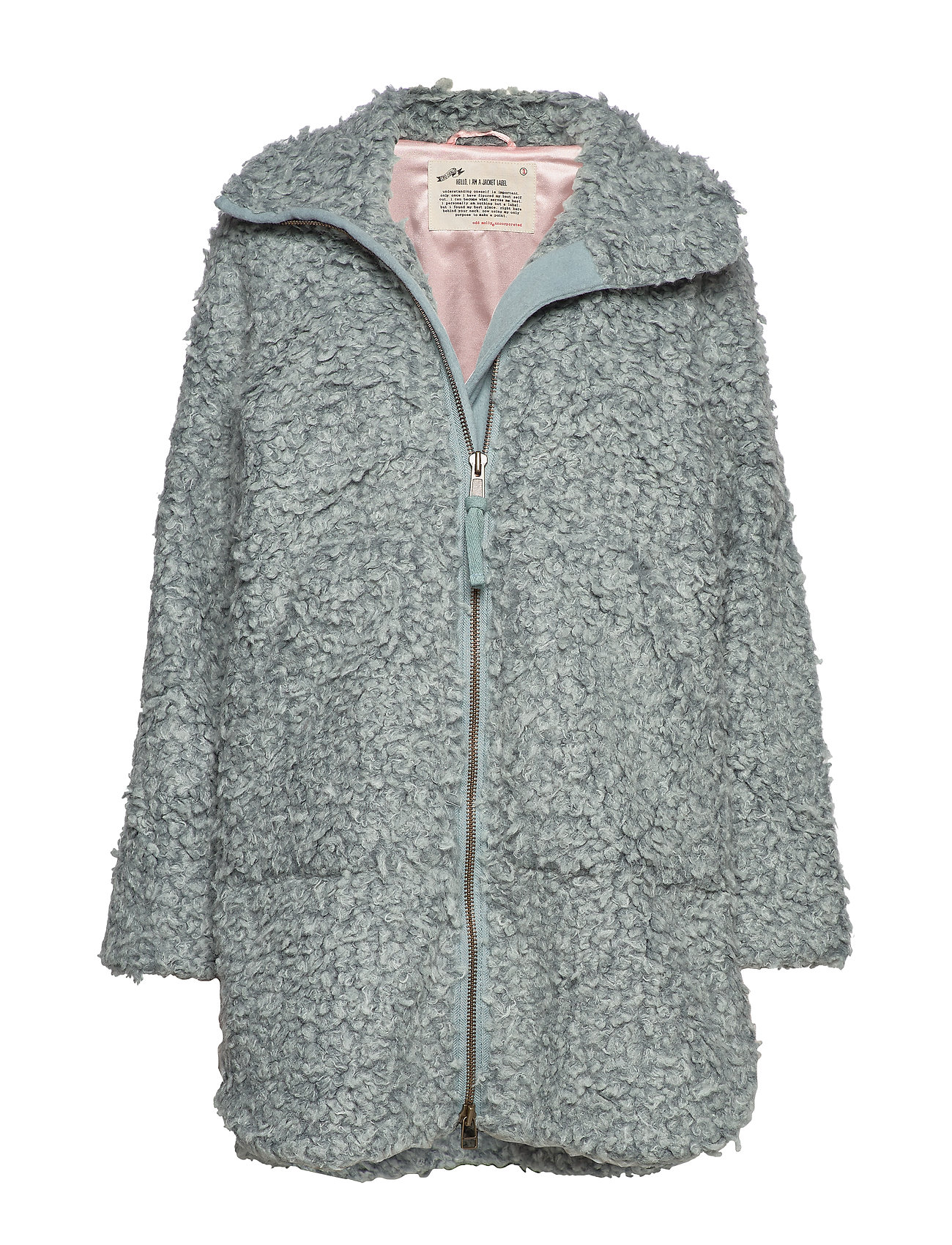 ODD MOLLY My Perfect Wrapping Jacket - MISTY OCEAN