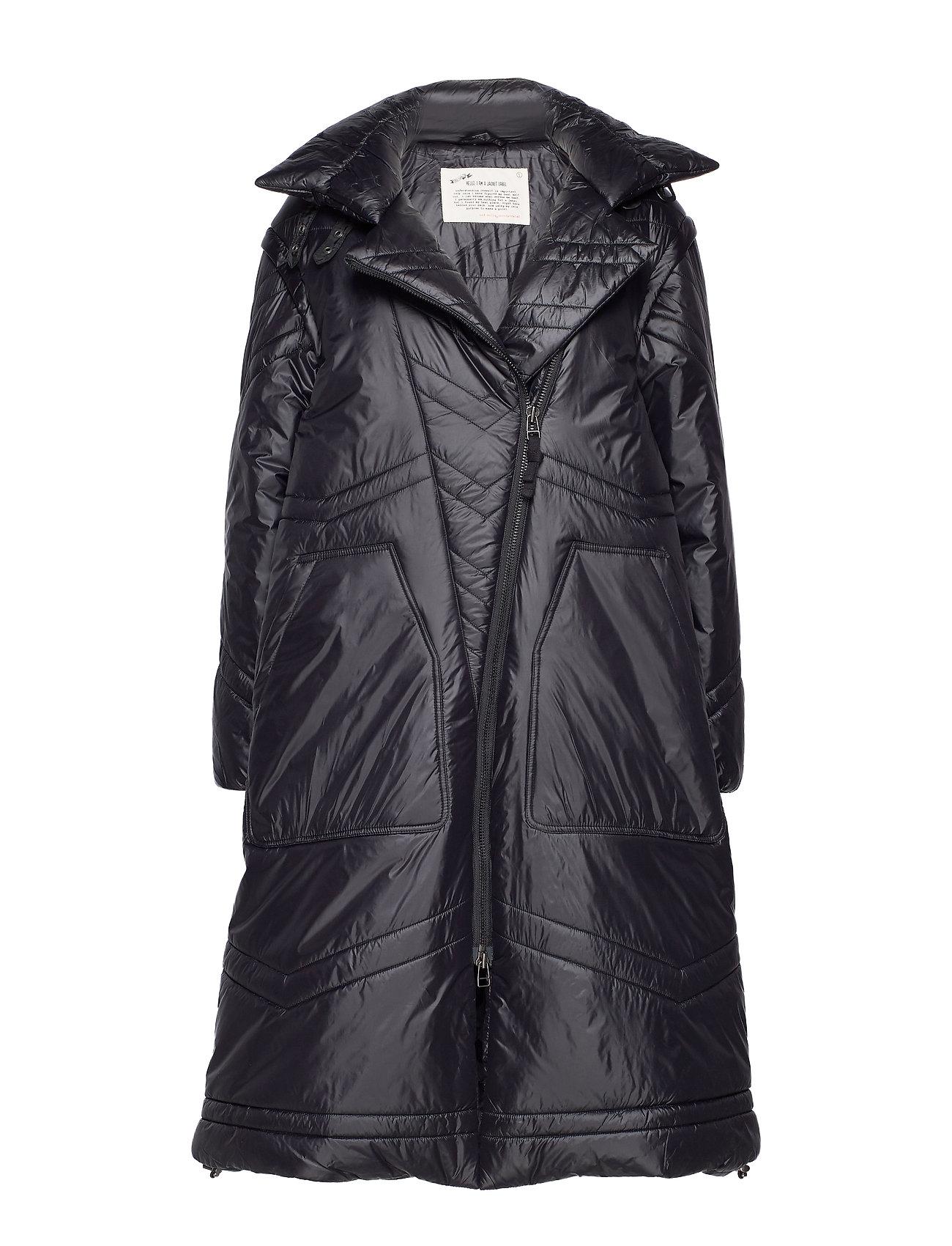 ODD MOLLY City Alpine Jacket - ALMOST BLACK