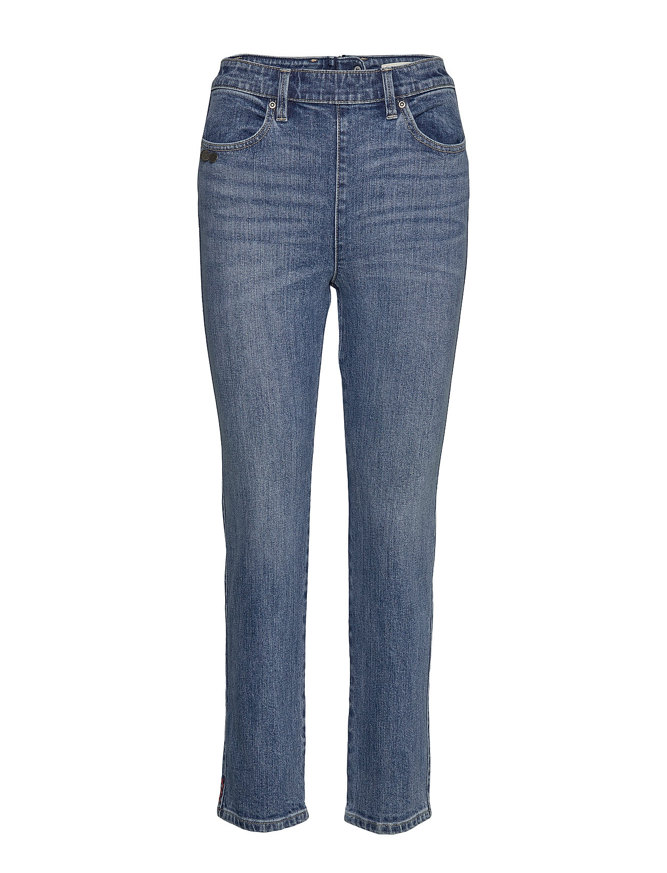 ODD MOLLY I'm Game Jeans - MID BLUE